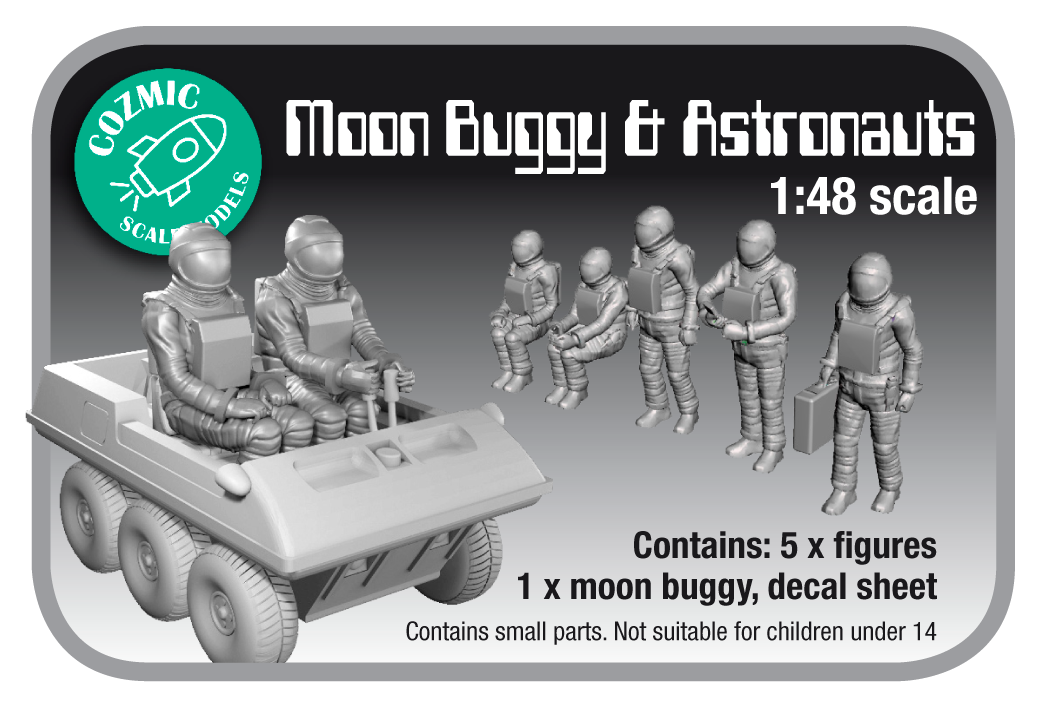 NEW 1:48th Space 1999 accessories