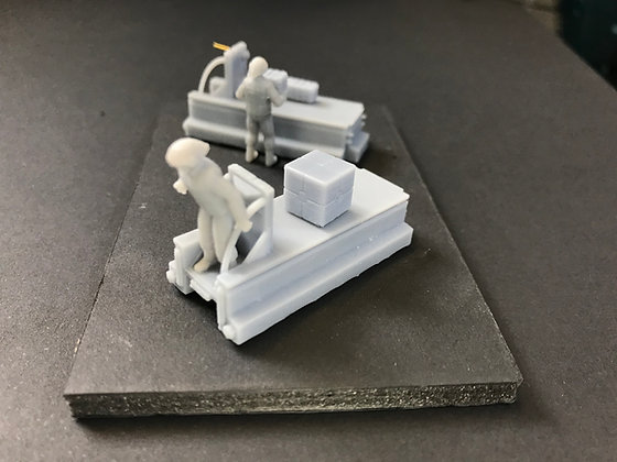 1:72nd scale Sci-Fi Cargo Sleds