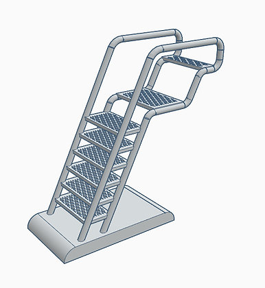 1:72nd scale 'BSG' Viper Bay Ladder v2