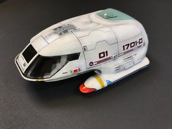 1:72nd scale Type 7 Shuttlecraft