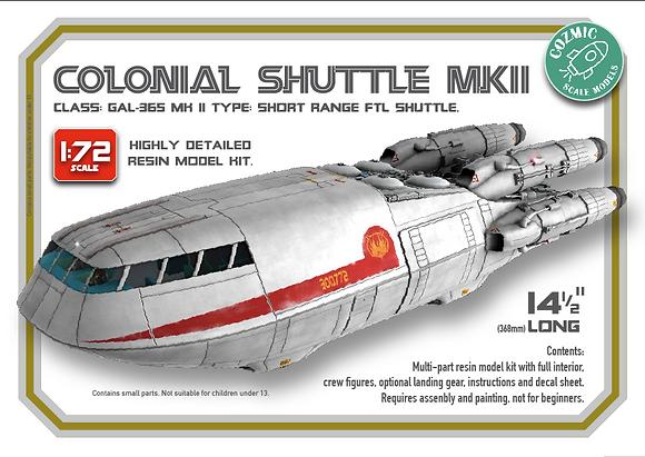 1:72nd scale 'BSG' Mk2 Colonial Shuttle