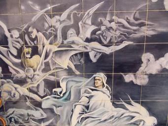 Igreja de Santo Antônio com seu acervo de pinturas em azulejos merece inclusão no roteiro turístico