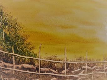 Opinião: natureza em estado de aridez na pintura do artesão e ambientalista  Sérgio Dias