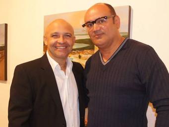 Rodrigues Lima expõe em galeria; embalado por show de Roberto Cajá e Oliveira de Panelas