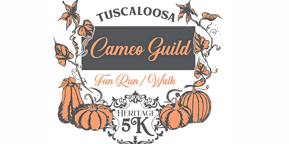 2021 Tuscaloosa Cameo Guild Heritage 5Kand Fun Run/Walk