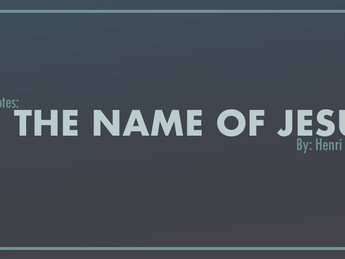 Book Notes: 'In the Name of Jesus' by Henri Nouwen