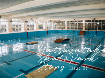 Yatsugatake Skate Park Story Issue01
