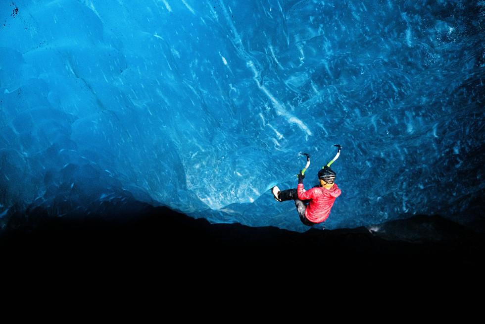 Kennicott Glacier Ice Cave, Wrangell NP