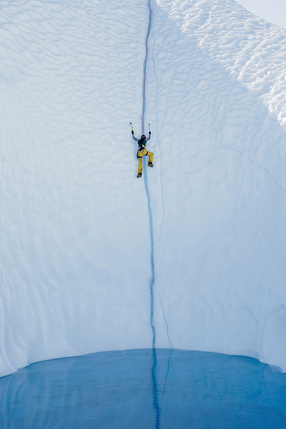 Matanuska Glacier Ice Pool 2