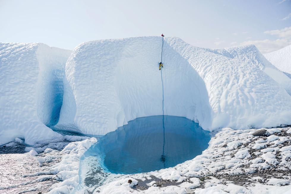 Matanuska Glacier Ice Pool 1