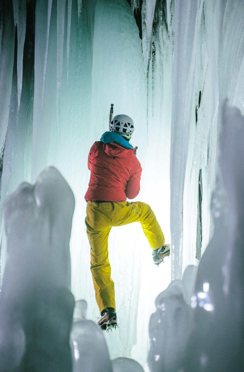 Illuminated Ice, Valdez 2021