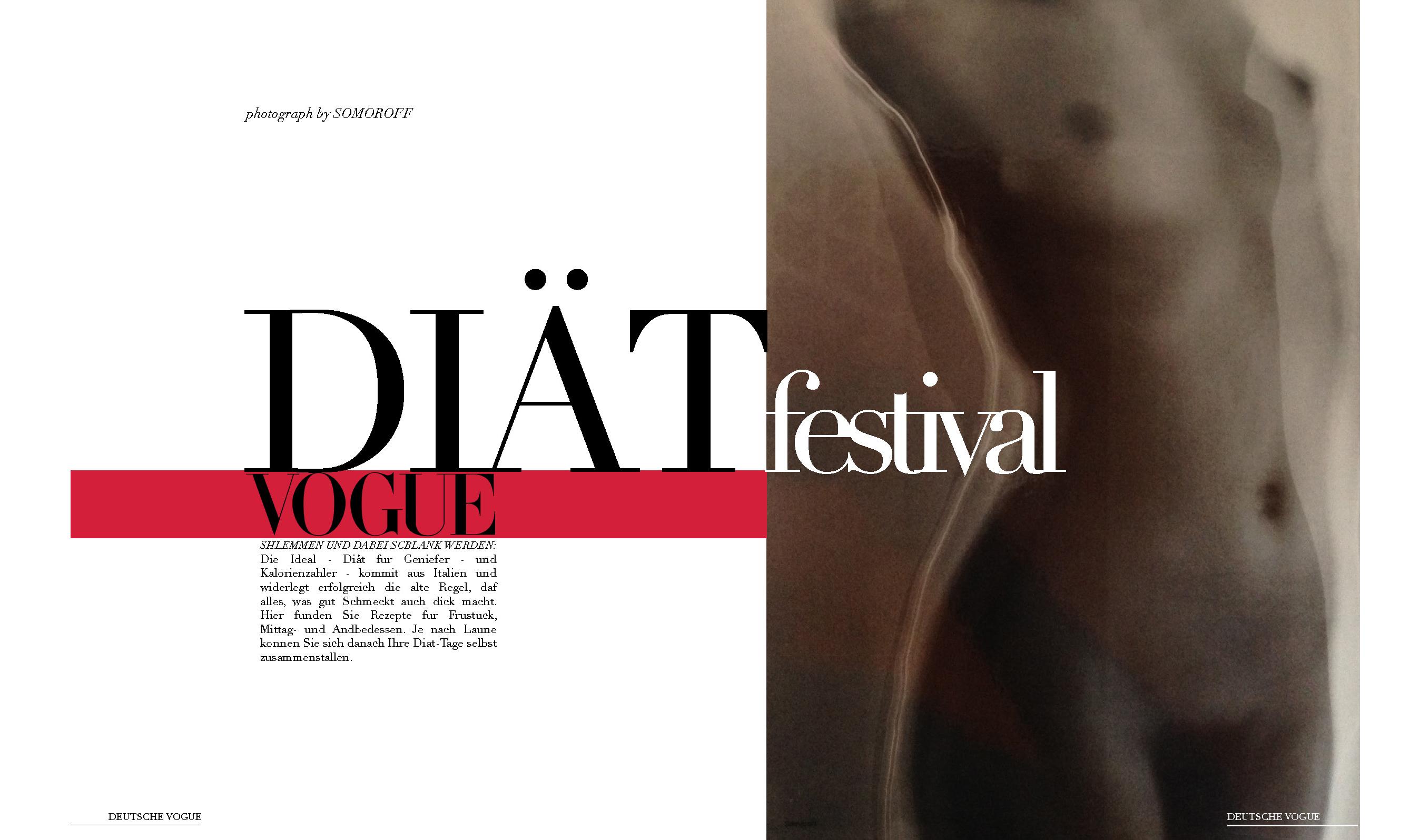 Vogue add