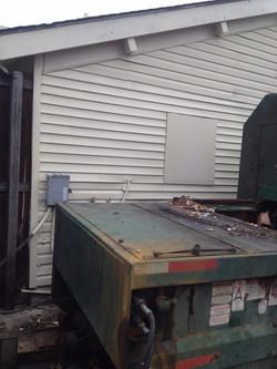 Trash Compactor Damage