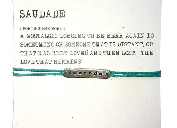 Bracelet Saudade