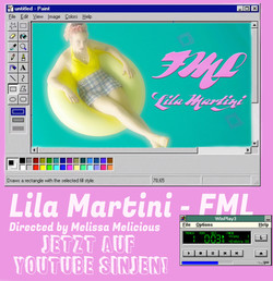 LILA MARTINI - FML Musikvideo