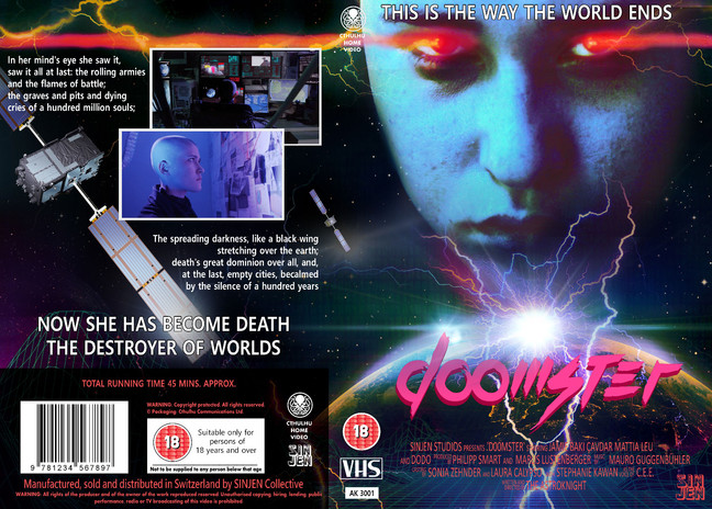 VHS Cover Doomster