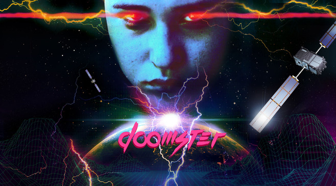 Doomster VHS Artwork
