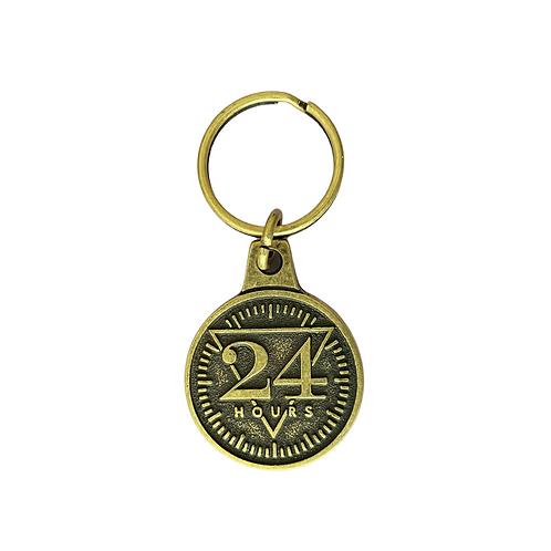 """24 Hours"" Keychain"