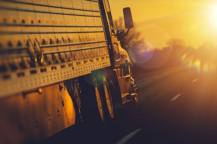 Semi Truck Shipping Destination. Freight