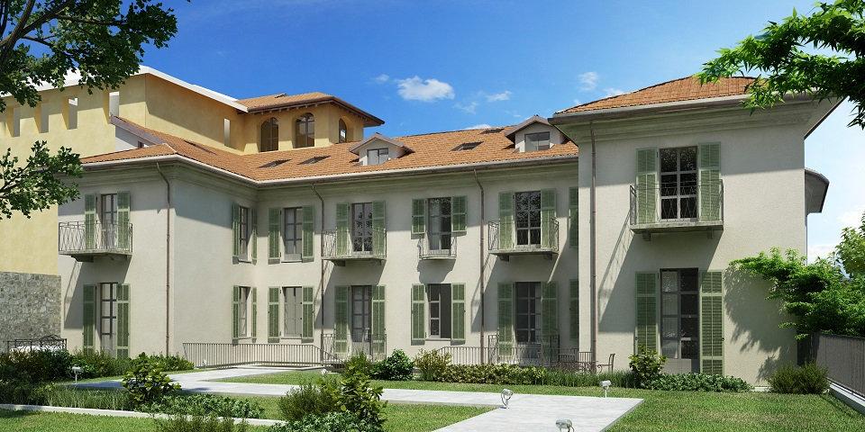 Menaggio appartamento in palazzo storico