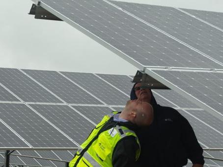 Duke Energy opens solar power farms near Walton