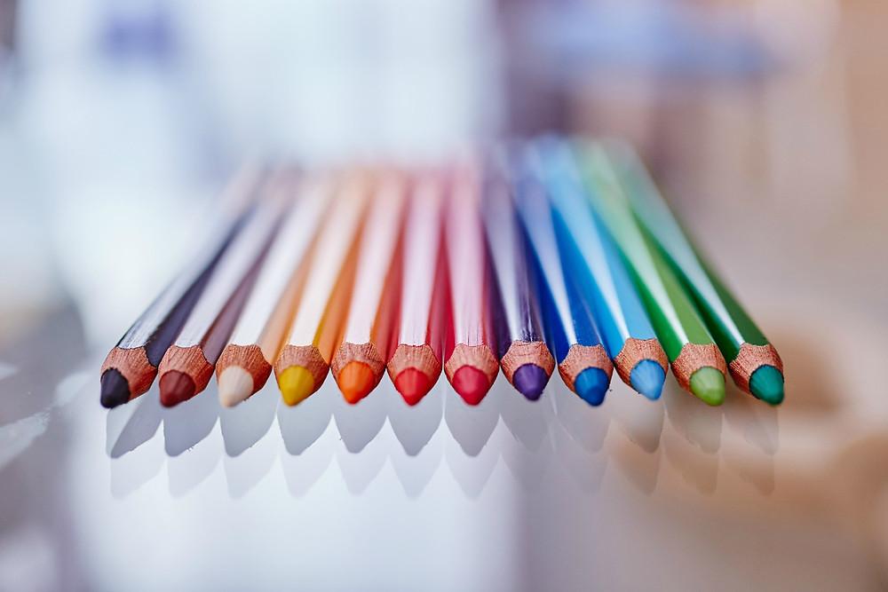 Colored pencils are so cool.