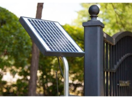 Install a Solar Gate Opener to Save Energy and Money