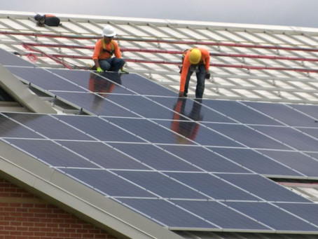 RPS completes solar panel project