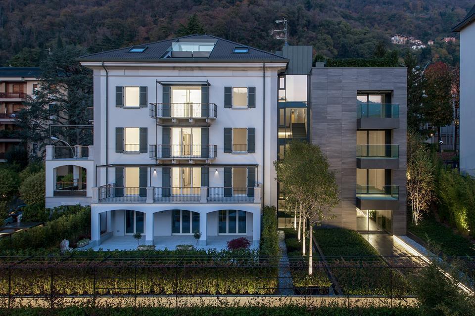 Como centro nuovo attico con terrazzo