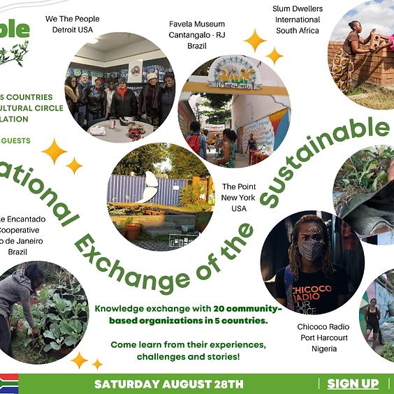 1st Sustainable Favela Network International Exchange