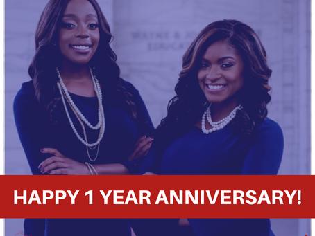 Happy 1 Year Anniversary GLLG!
