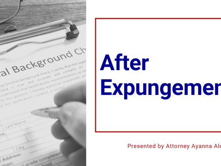 After Expungement