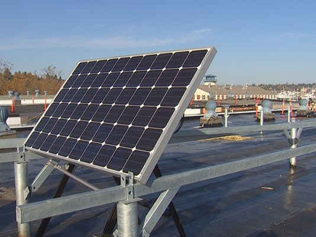 Port's first solar panels go up at Fishermen's Terminal