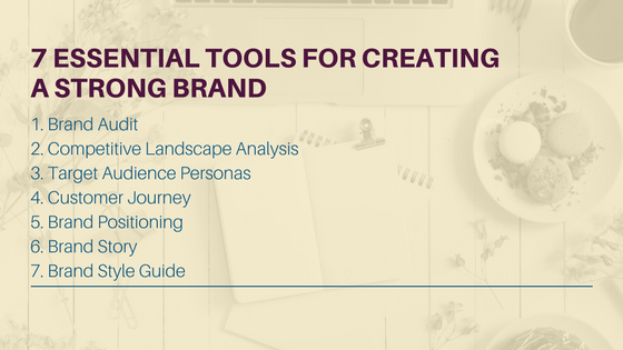 7 Essential Tools for Creating a Strong Brand