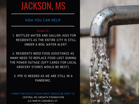 Water Relief for Jackson, MS