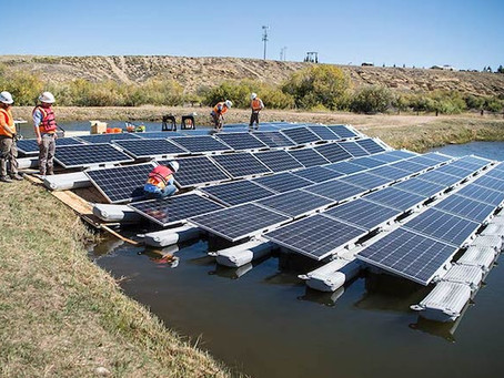 The US Department Of Energy Roots For Floating Solar Panels. Do You?