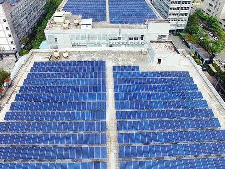 How the sun can work for manufacturers with solar panels