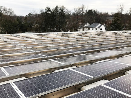 SOLAR PANELS POWER NEW SCHOOLS—AND NEW WAYS OF LEARNING
