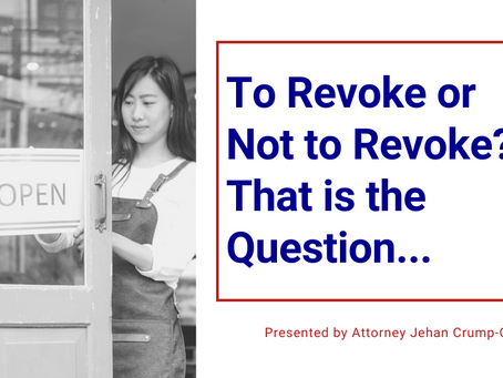 To Revoke or Not to Revoke? That is the Question...