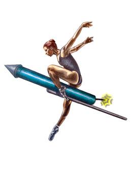 Ballerina aus Lima