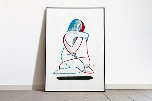 Digital Print «LOVA»