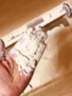 Farine Astrié obtenue par le moulin à meules de pierre Astreia