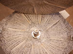 moulin meule de pierre
