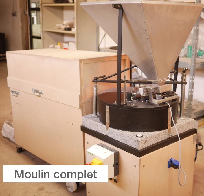 Moulin Astrié : Le moulin complet