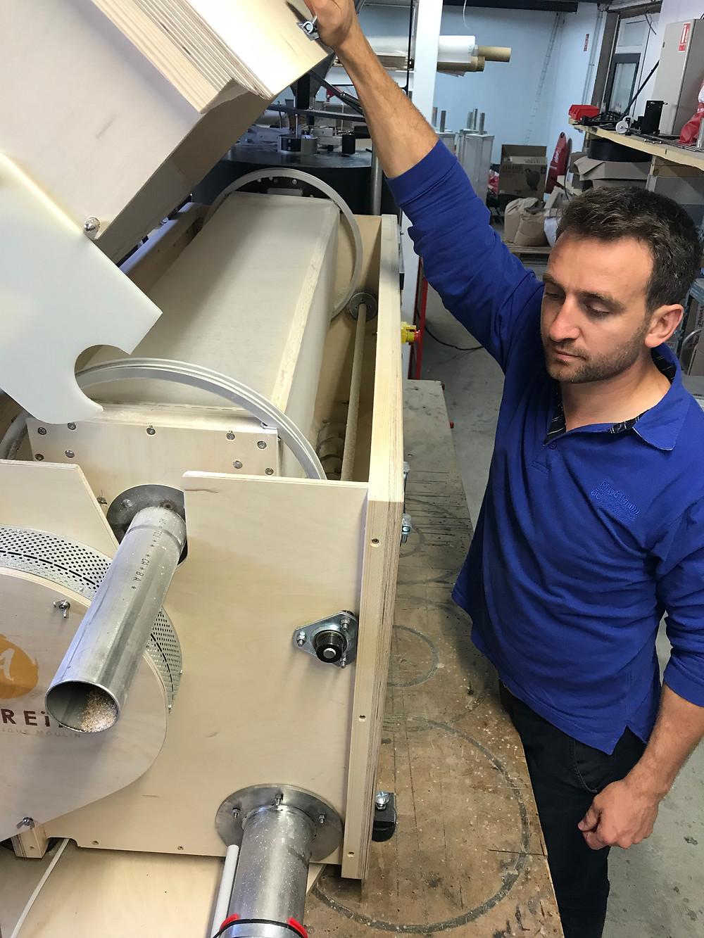 Moulin Astréia : fabricant de moulin Astrié à meule de pierre