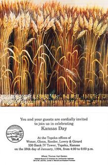1994 Kansas Day Card