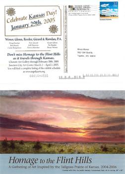 2005 Kansas Day Card