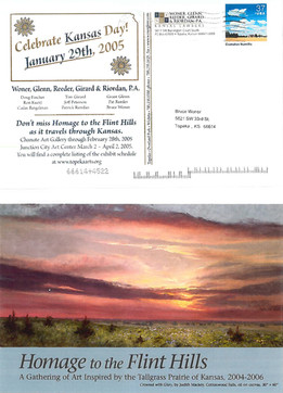2005 Kansas Day Card