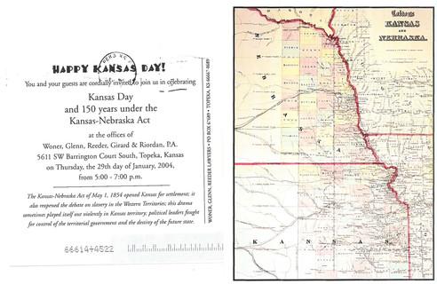 2004 Kansas Day Card