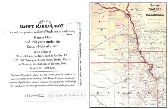 2004 Kansas Day Card